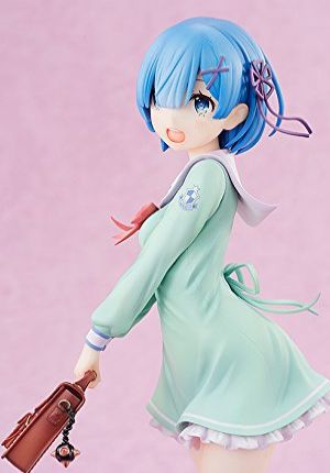 Re:ゼロから始める異世界生活 レム 学生服Ver. 1/7スケール PVC製 塗装済み完成品フィギュア